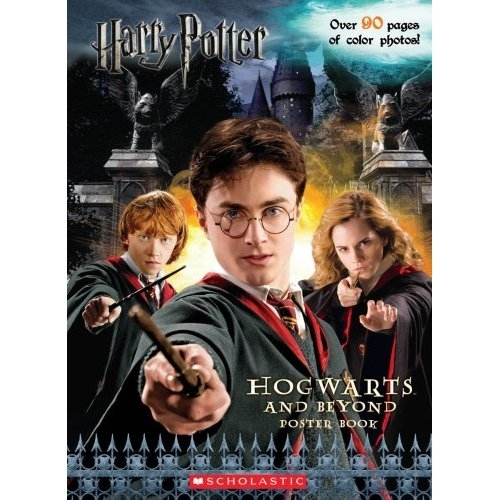 Harry Potter, Hogwarts and Beyond Poster Book. First Edition
